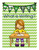 What Is Writing? Posters