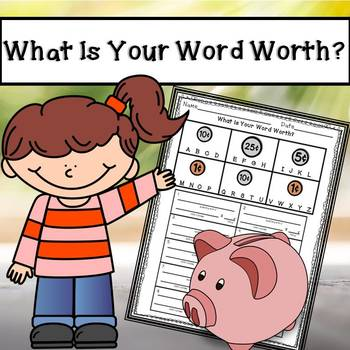 What Is Your Word Worth? A Spelling Activity Using Coin Values!