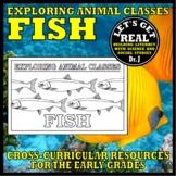 Animal Classes for Grades 1-3: WHAT IS A FISH? (Cut-and-Glue Science)