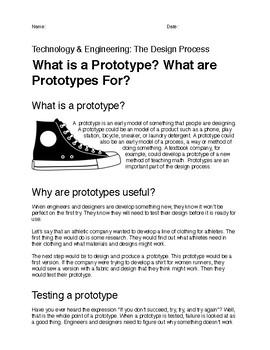 What Is A Prototype The Engineering Design Process By Appleseed Education