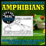 Animal Classes for K-3: WHAT IS AN AMPHIBIAN? (Cut-and-Glue Science)
