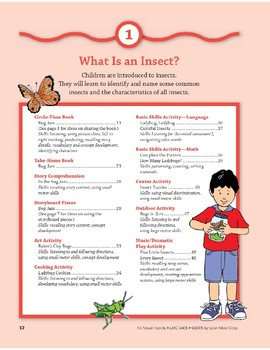 What Is an Insect?: Art and Cooking Activities