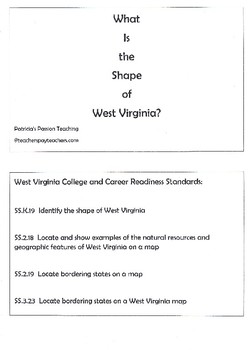 What Is the Shape of West Virginia?