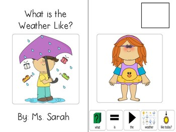 What Is the Weather? Interactive Adaptive Book