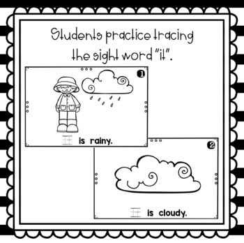 What Is the Weather- emergent reader