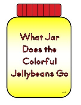 What Jar Does the Colorful Jellybeans Go