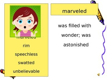 What Jo Did Vocabulary Powerpoint