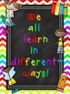 What Kind of Learner Are You? {Poster and Interest Inventory Set}