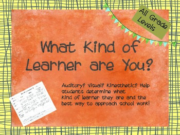 What Kind of Learner are You Questionnaire