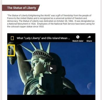 """What """"Lady Liberty"""" and Ellis Island Mean Today: Short Video Analysis"""
