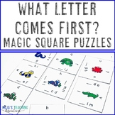 What Letter Comes Before? Literacy Center Game