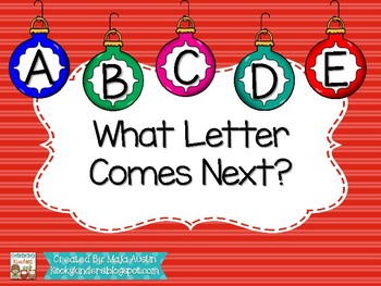 What Letter Comes Next?