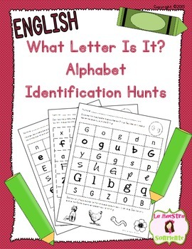 Alphabet Recognition: What Letter Is It? (English)