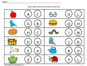 What Letter Sound Mats and Work Sheets