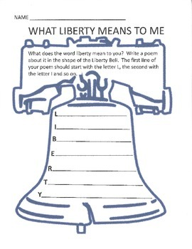 What Liberty Means to Me