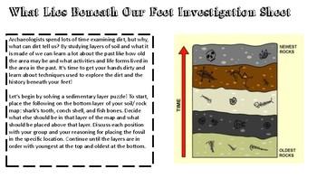 What Lies Beneath Series- Earth Systems, Soil/ Rocks STEM