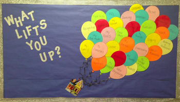 What Lifts You Up Bulletin Board
