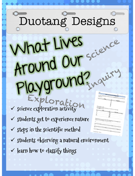 What Lives Around Our Playground?