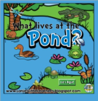What Lives at The Pond? { SMARTboard Activities}