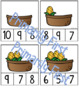 What Makes 10? ~ Clip Cards ~ Corn on the Cob ~ Thanksgiving