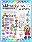 What Makes 10 GAMES Math Fact Fluency Activities for Centers & Small Groups
