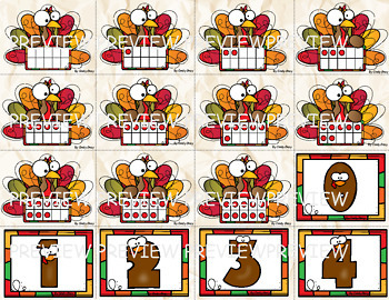 What Makes 10?  Thanksgiving Themed