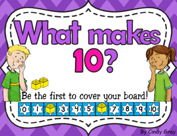 What Makes 10 With Number Tracks