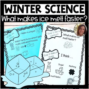 Winter Science Experiment | What Makes Ice Melt Faster? | States of Matter