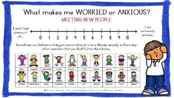 What Makes Me Worried? - Self Reflection -anxiety, worry, growth mindset, stress