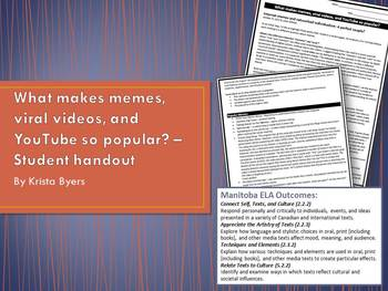 What Makes Memes, Viral Videos, and Youtube so Popular?