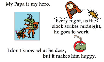 What Makes Papa Happy - Original Children's Storybook PDF