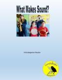 What Makes Sound (160L, 210L, 240L) - Science Informational Leveled Text Set