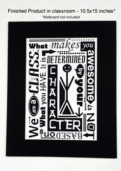 'What Makes You Awesome' Poster (3 sizes)