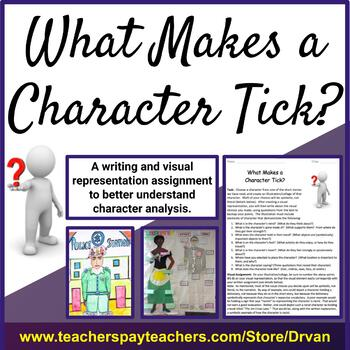 What Makes a Character Tick? Engaging exploration of character in any literature