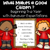 What Makes a Good Citizen? | Distance Learning