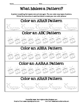 What Makes a Pattern?