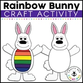 Bunny Craft | What Makes a Rainbow Activity | Easter Bulletin Board Craft