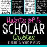 What Makes a Scholar? Classroom Posters - Gifted Education - Upper Elementary