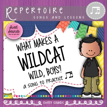 What Makes a Wildcat Wild {Tadimi Practice Pack}