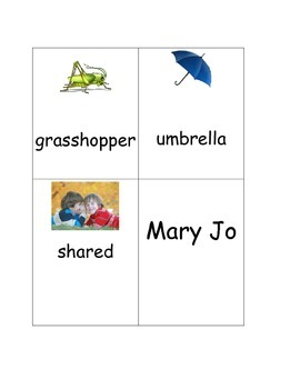 What Mary Jo Shared shared reading inference activity