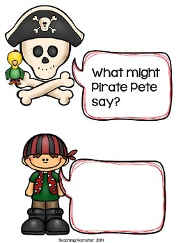 What Might Pirate Pete Say?