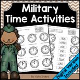 Military Time Activities | Printable & Digital
