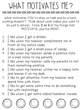 What Motivates Your Students?