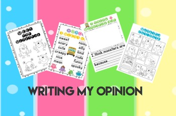What My Opinion? Common Core Unit in Learning & Writing About Opinions