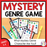 ELA Games -- Mystery Genre Character Types