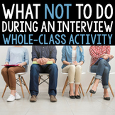 What NOT to do During an Interview Charades and Discussion