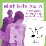 What Note Am I?  Music Party Game