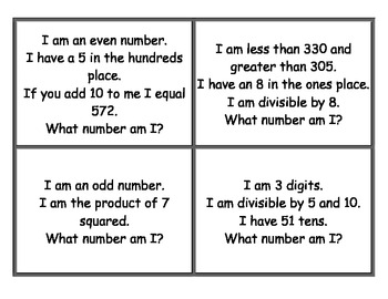 What Number Am I?