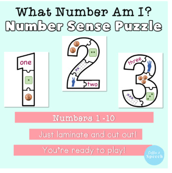 What Number Am I? Number Puzzle