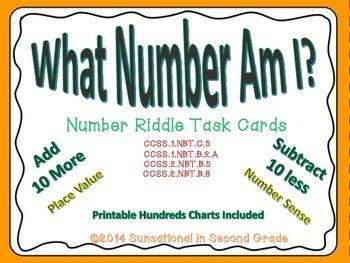 What Number Am I? (Number Riddle Task Cards)